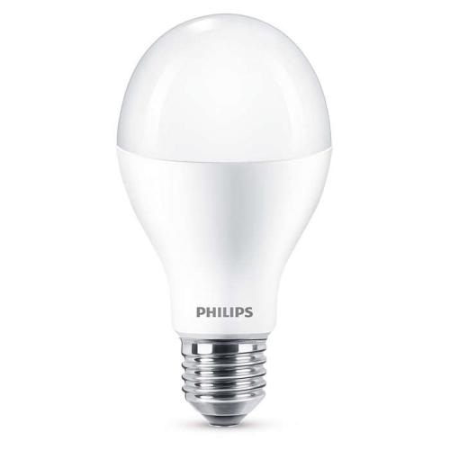 PHILIPS E27 18W 4000K 2000lm náhrada 120W; LED žárovka A60 NonDim