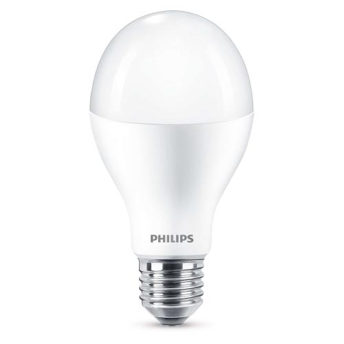 PHILIPS E27 18W 6500K 2000lm náhrada 120W; LED žárovka A60 NonDim