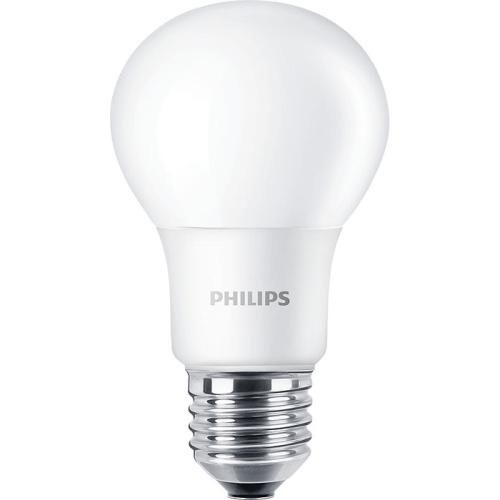 PHILIPS E27 5W 4000K 470lm náhrada 40W; LED žárovka A60 NonDim
