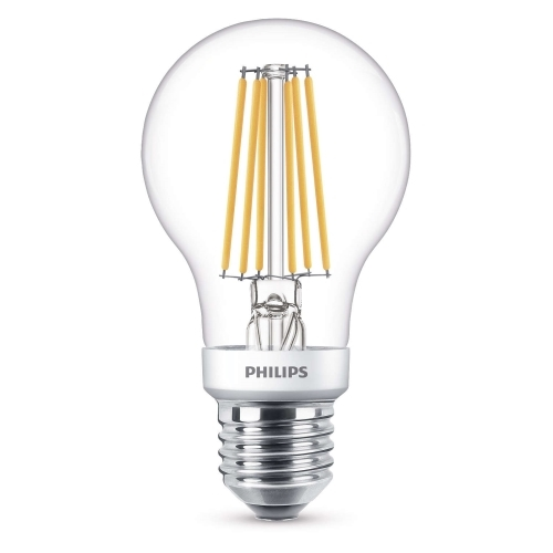 PHILIPS E27 7.5W 2700/2200K 806lm náhrada 60W; LED žárovka A60 SceneSwitch