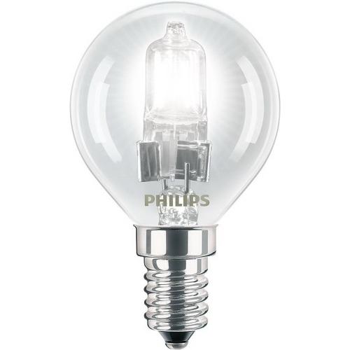 PHILIPS EcoClassic E14 28W 230V P45  halogenová kapková žárovka