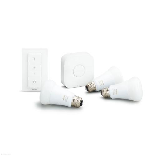 PHILIPS HUE Ambience starter kit; brána + 3x LED žárovka A60 9,5/60W 2200-6500K