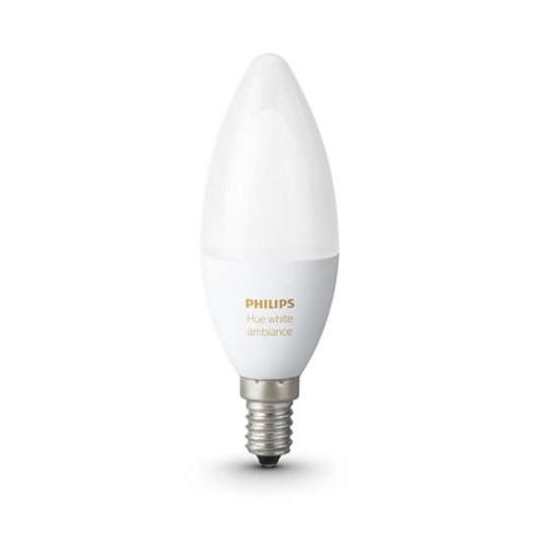 PHILIPS HUE Ambience žárovka B39 6W 2200-6500K DIM