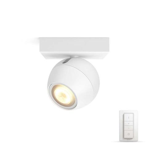 PHILIPS HUE přisazené svítidlo LED Buckram 1x5.5W GU10; bílá (50471/31/P7)