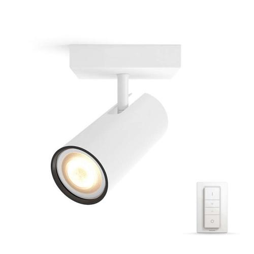 PHILIPS HUE přisazené svítidlo LED Burrato 1x5.5W GU10; bílá (50461/31/P7)