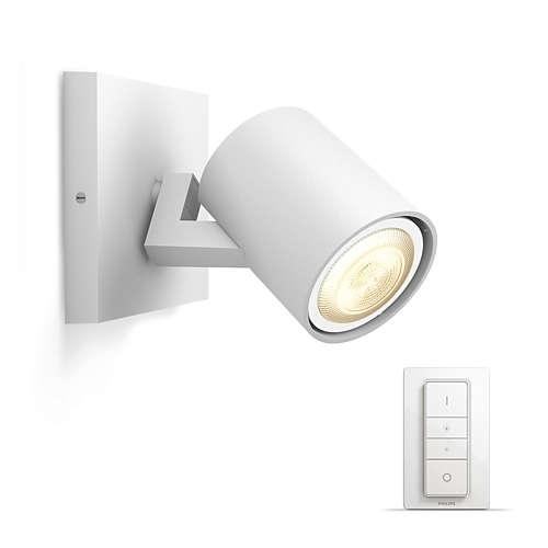 PHILIPS HUE přisazené svítidlo LED RUNNER 1x5,5W GU10; bílá + HUE přepínač