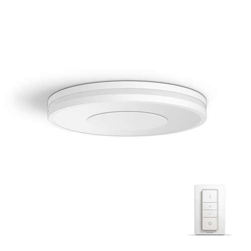 PHILIPS HUE stropní svítidlo LED BEING 1x32W; bílá + HUE přepínač (32610/31/P7)