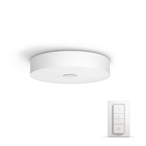 PHILIPS HUE stropní svítidlo LED FAIR 1x39W; bílá + HUE přepínač (40340/31/P7)