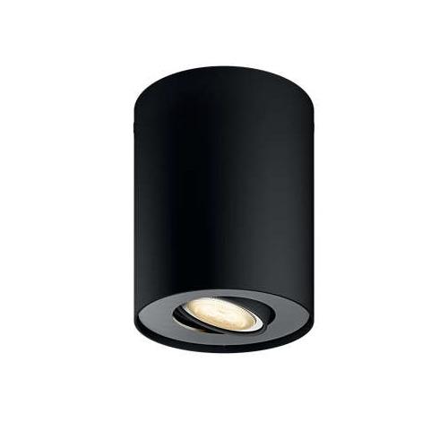 PHILIPS HUE stropní svítidlo LED PILLAR 1x5,5W GU10; černá (56330/30/P8)