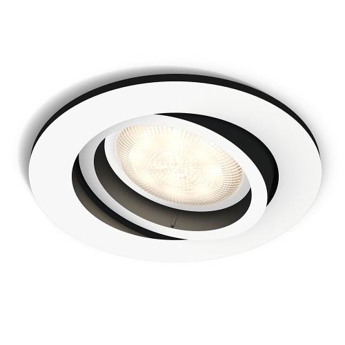 PHILIPS HUE vestavěné svítidlo LED MILLISKIN 1x5,5W GU10; bílá (50411/31/P8)