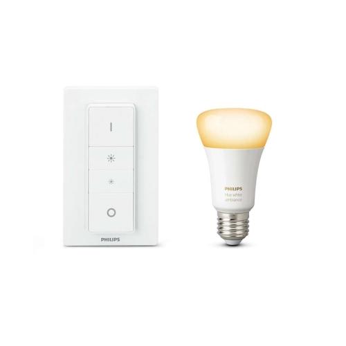 PHILIPS HUE W.AMBIANCE light.recipe kit; sw.+1xA60 9.5W/60W E27 2200-6500K 25Y