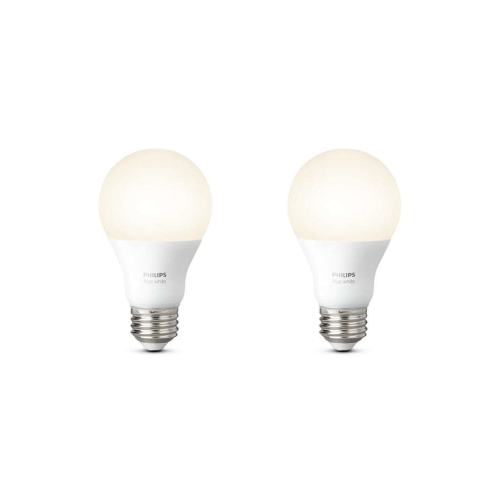 PHILIPS HUE WHITE LED žárovka  A60 9.5W/60W E27 2200-6500K 806lm Dim 25Y set-2ks