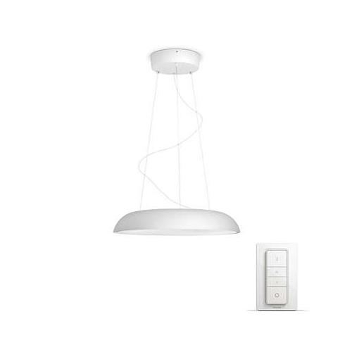 PHILIPS HUE závěsné svítidlo LED AMAZE 1x39W; bílá + HUE přepínač (40233/31/P7)