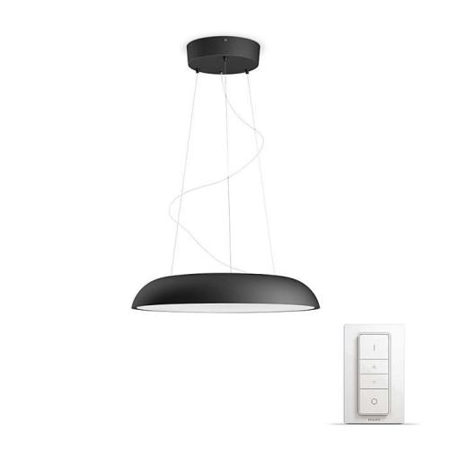 PHILIPS HUE závěsné svítidlo LED Amaze 39W; černá (40233/30/P7)