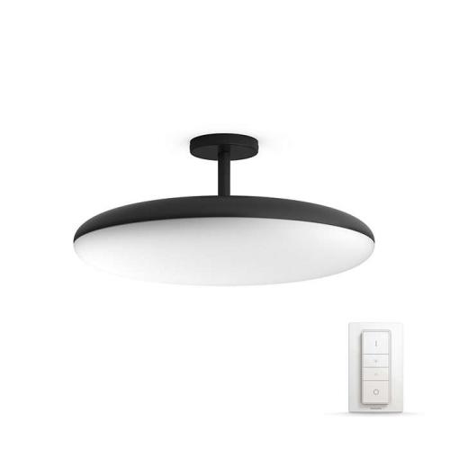 PHILIPS HUE závěsné svítidlo LED Cher 39W; černá (40969/30/P7)