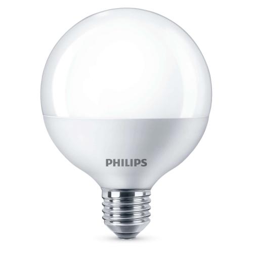 PHILIPS LED globe  E27 9.5W G93 náhrada za 60W 2700K 806lm NonDim 15Y
