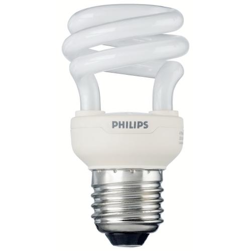 PHILIPS TORNADO E27 8W/827 úsporná žárovka