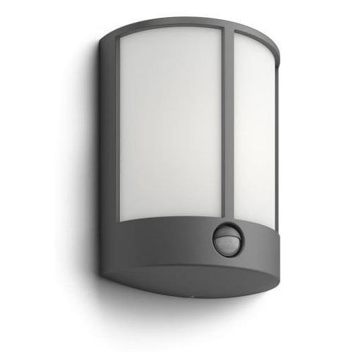 PHILIPS venkovní LED svítidlo Stock se senzorem; antracit (16465/93/16)