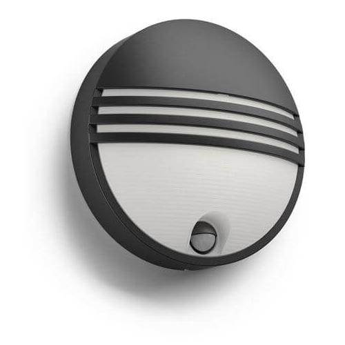 PHILIPS venkovní LED svítidlo Yarrow se senzorem; černá (17297/30/16)