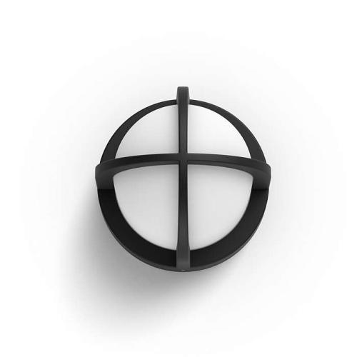 PHILIPS venkovní svítidlo Astilbe E27; černá (17380/30/PN)