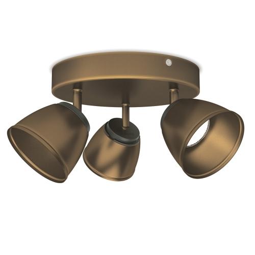PHILIPS vnitřní LED svítidlo County; bronz (53353/06/16)