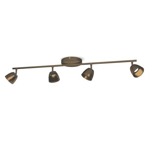 PHILIPS vnitřní LED svítidlo County; bronz (53354/06/16)
