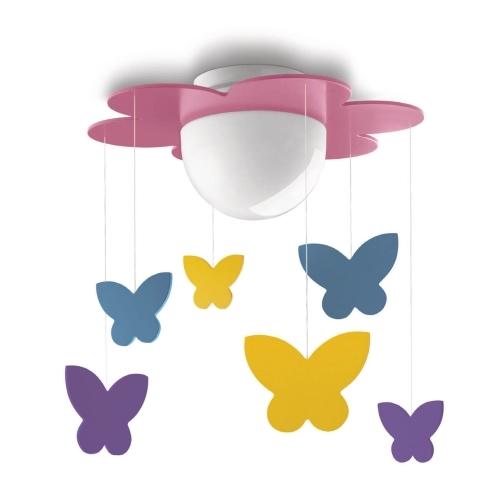 PHILIPS vnitřní svítidlo dětské E27; motýli (40096/28/16)