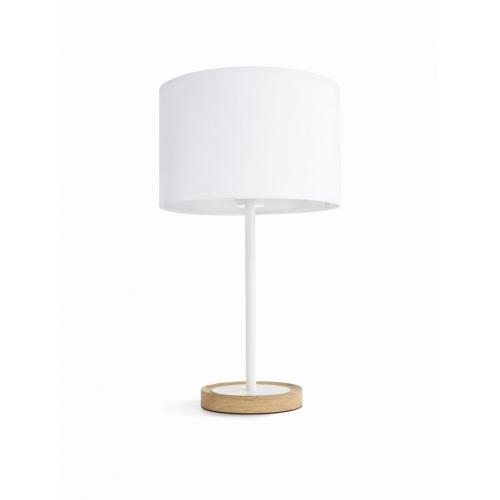 PHILIPS vnitřní svítidlo Limba E14; bílá/světlé dřevo (36018/38/E7)