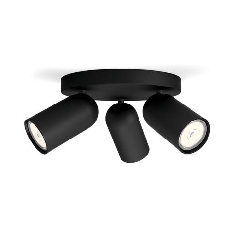 PHILIPS vnitřní svítidlo Paisley; černá (50583/30/PN)