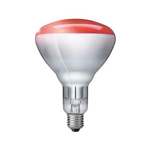 PHILIPS žárovka infračervená 250W E27 červená