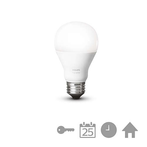 PHILPS HUE LED zarovka A60 9,5W/60W 2700K 800lm Dim 25Y