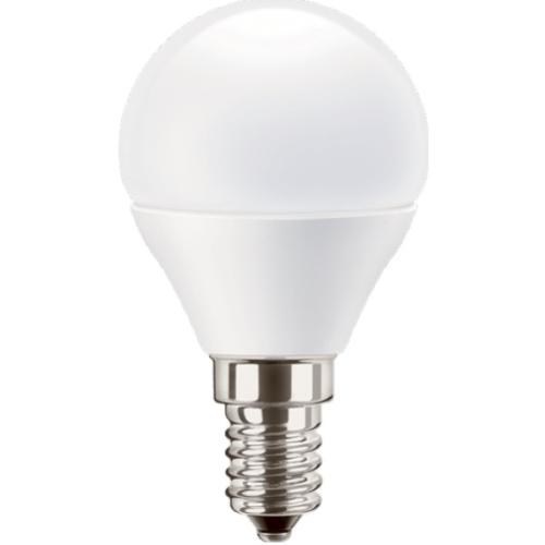 PILA E14 5.5W 2700K 470lm náhrada 40W; LED kapková žárovka P45 opál