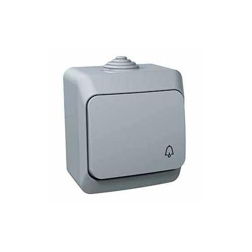 Schneider CEDARplus ovladač.tlač. č.1/0 IP44 sym.zvonek ; WDE000612