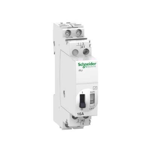 Schneider Electric impulzní relé A9C30815 1Zap 1Vyp 16A 230V AC /110V DC 50/60Hz