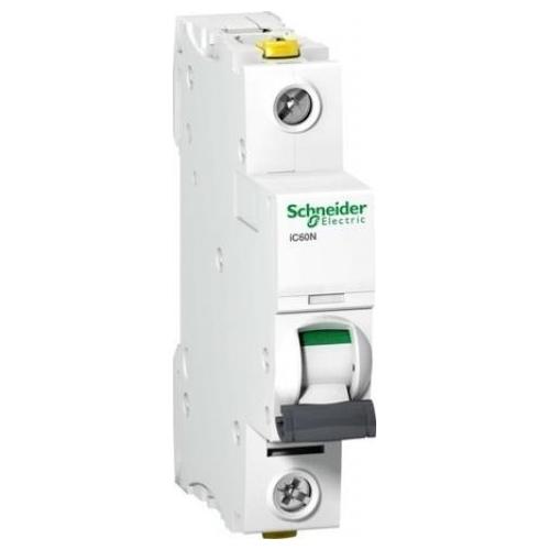 Schneider Electric jistič 1P 16A B 10kA; iC60N jistič jednopólový