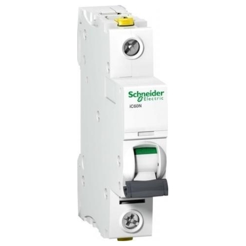 Schneider Electric jistič 1P 2A C6kA; iC60N jistič jednopólový
