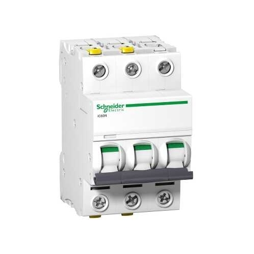 Schneider Electric jistič 3P 20A B 6kA; iC60N jistič třípólový