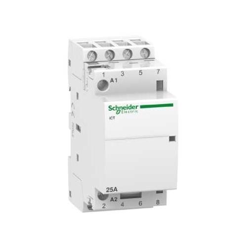 Schneider Electric stykač 25A 230V AC 50/60Hz;  A9C20834 4Zap