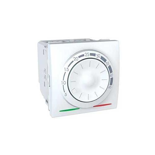 Schneider UNICA termostat otočný - podl. vytápění s čidlem POLAR; MGU350318