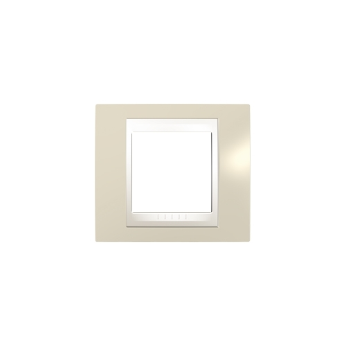 Schneider UNICAplus rám.krycí ARENA/MARFIL ;  MGU6002567 (MGU6.002.567)