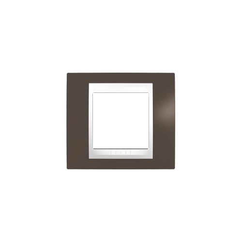 Schneider UNICAplus rám.krycí CACAO/POLAR ;  MGU6002871 (MGU6.002.871)