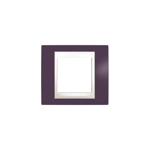 Schneider UNICAplus rám.krycí GARNET/MARFIL ;  MGU6002572 (MGU6.002.572)