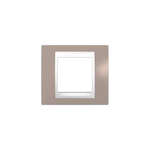 Schneider UNICAplus rám.krycí MINK/POLAR ;  MGU6002874 (MGU6.002.874)
