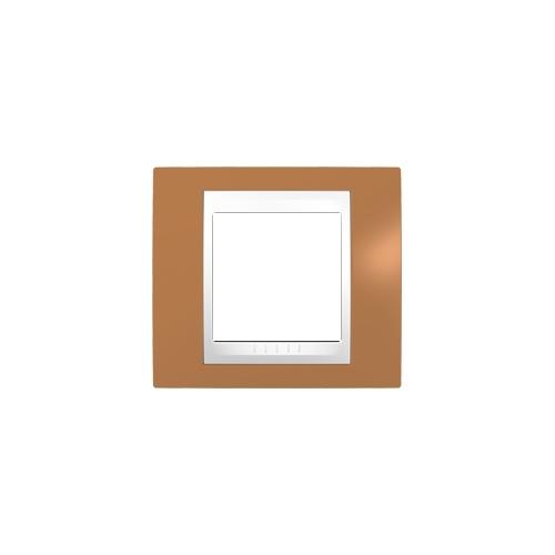 Schneider UNICAplus rám.krycí ORANGE/POLAR ;  MGU6002869 (MGU6.002.869)