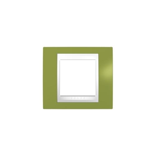 Schneider UNICAplus rám.krycí PISTACIO/POLAR ;  MGU6002866 (MGU6.002.866)