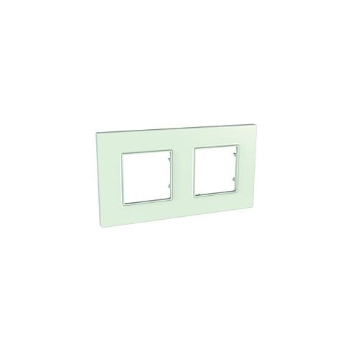 Schneider UNICAquadro rám.krycí GREEN ;  MGU270417 (MGU2.704.17)
