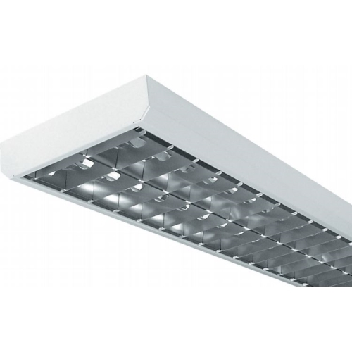 Svítidlo LLX 2x36 W hliník,nízké, el. předřadník