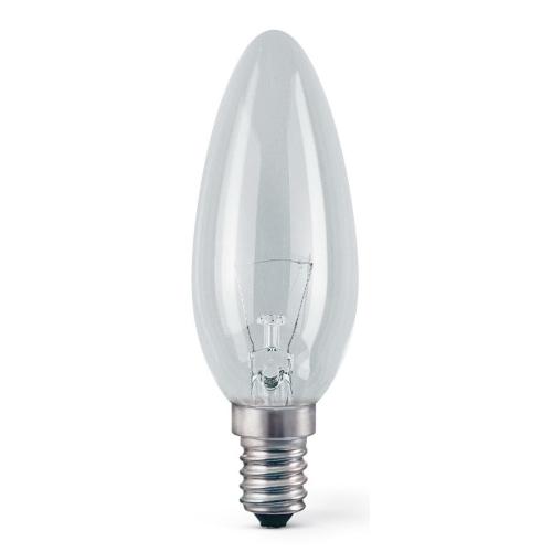 TESLAMP svíčková žárovka  40W 230V E14, klasická  svíčková žárovka