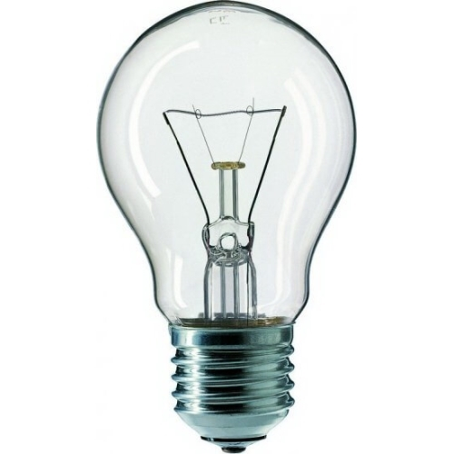TESLAMP žárovka 150W 230V E27, klasická čirá žárovka