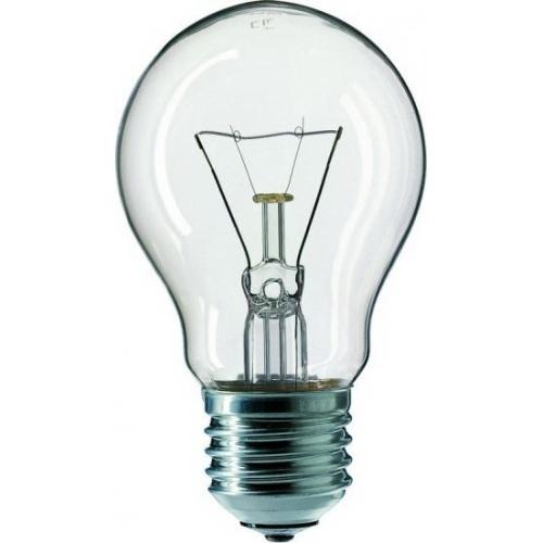TESLAMP žárovka 60W 230V E27, klasická čirá žárovka